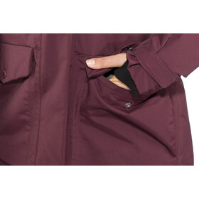 Didriksons 1913 W's Frida Parka Wine Red